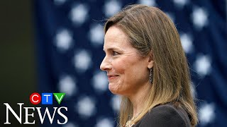'I am truly humbled': Judge Amy Coney Barrett accepts Trump's nomination to the Supreme Court