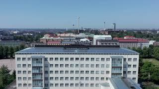 Ikkunatehdas Lasivuorimaa - VARI-perinneikkunat, Aleksis Kiven peruskoulu