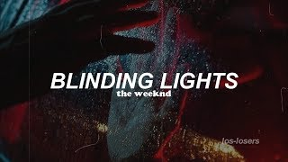 The Weeknd - Blinding Lights (Traducida al español)
