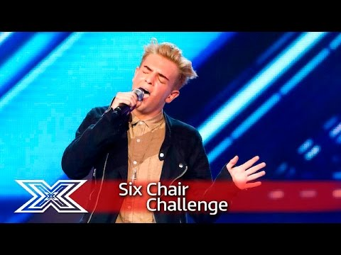 Can Freddy Parker convince Nicole to give him a seat? | Six Chair Challenge | The X Factor UK 2016