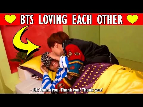 ❤ HOW BTS LOVES EACH OTHER | Bangtan Boys