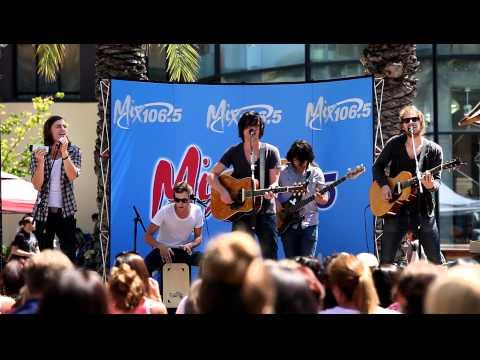 Parachute -  What I Know (Live @ Santana Row, San Jose, CA)