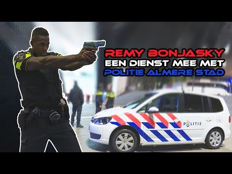 Remy Bonjasky en Politie Almere Stad samen op pad!