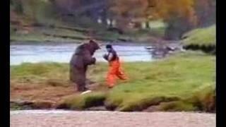 "John West Salmon ""Bear Fight"" ad"