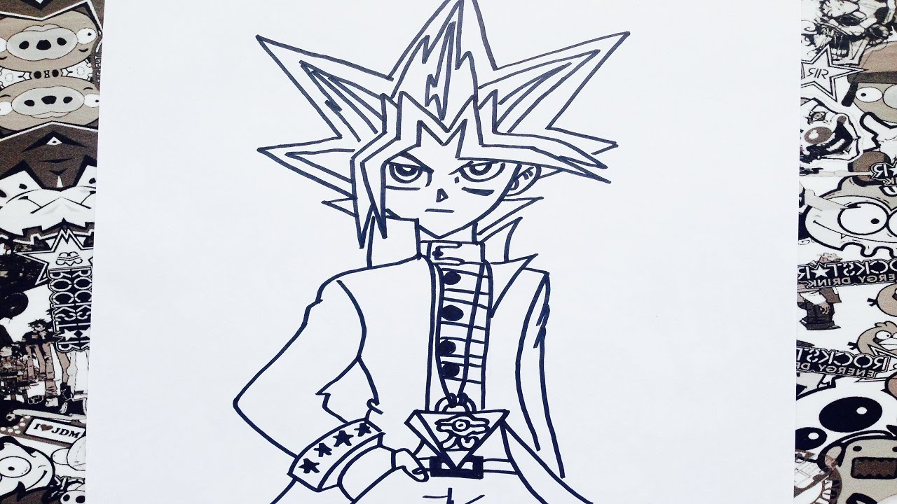 Como dibujar a yugioh how to draw yugioh youtube ccuart Gallery