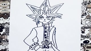 Como dibujar a yugioh | how to draw yugioh