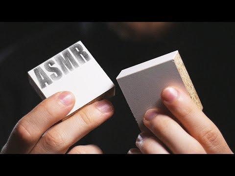 ASMR Wood blocks. Scratching, tapping - bit of talking -