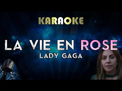 Lady Gaga - La Vie En Rose Karaoke Instrumental A Star Is Born
