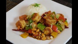 How to make Kung Pao Shrimp, Chinese Inspired dish