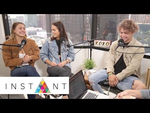 JC Caylen, Lia Marie Johnson, Claudia Sulewski Dish On go90's 'T@gged' & More | Hey Guys | INSTANT