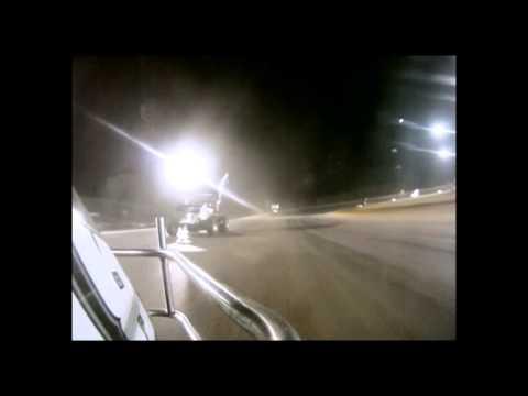 #28 David Forbis heat race bumper cam @ Ark-La-Tex Speedway Oct. 20, 2012