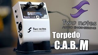 Two Notes Torpedo CAB M - Demo