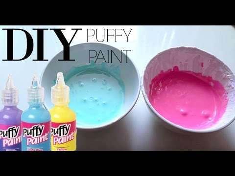 How to make puffy 3d paint youtube for How to make yellow paint