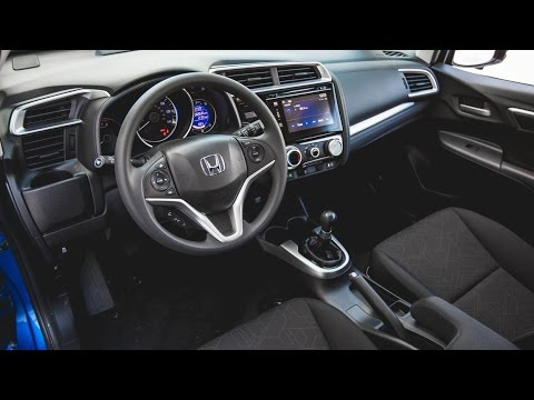 Honda 2015 Honda Fit Ex Manual Interior Youtube