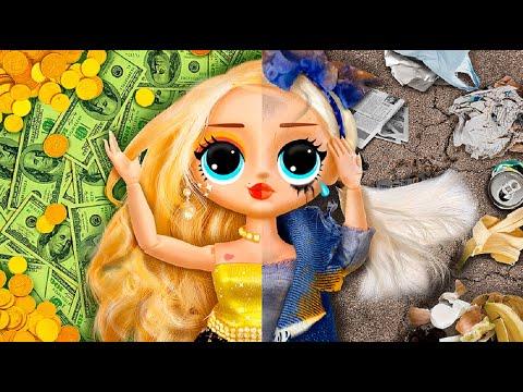 16 Kendin Yap Tarzı Barbie Hilesi ve El İşi / Pembe ve Sarı Barbie Fikirleri
