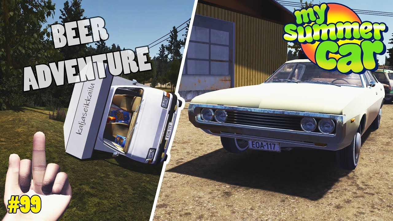Camper Van - Stock Ferndale | My Summer Car Mods