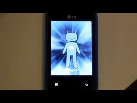 How to install CyanogenMod 9 on LG Optimus L3 E400