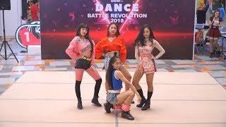 Show dc dance battle revolution 2018 (semi-final round) dc, bangkok, thailand 16/9/2018 #busaba #บุษบา #blackpink