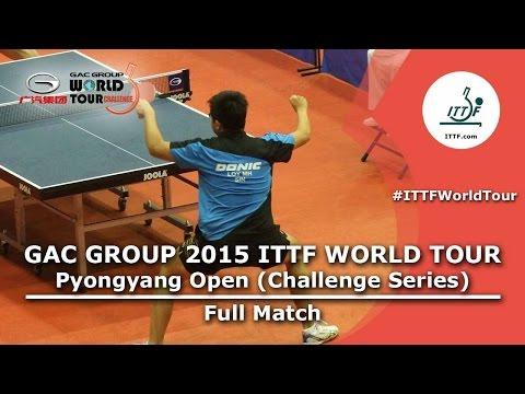 2015 Pyongyang Open: LOY vs O Chol Min (Qual) - Full Match