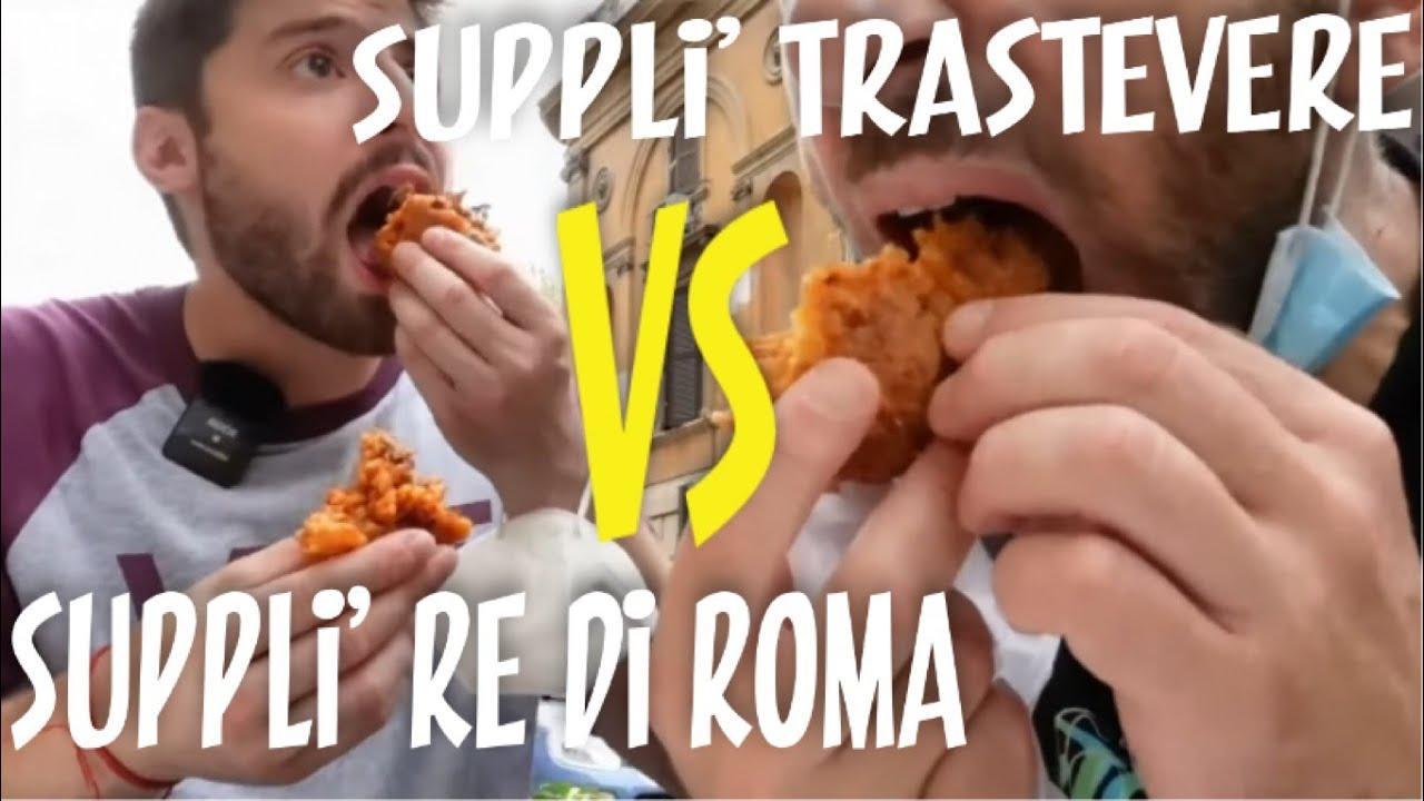 Suppli' Trastevere VS suppli' re di Roma LA GRANDE SFIDA