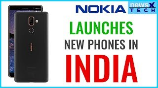 The New Nokia Mobile Phones Nokia 1 , Nokia 6 , Nokia 7+ and Nokia 8 Sirocco Review | NewsX Tech