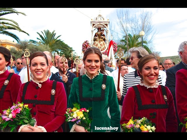 Vídeo noticia: Romería de Bajada de María Stma. de Araceli 2016