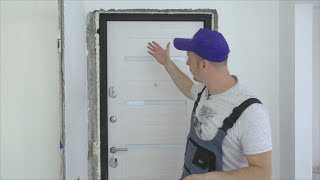 видео Советы по установке входной двери