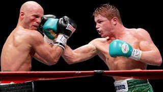 Canelo Alvarez vs Ryan Rhodes  - Highlights (Canelo DOMINATES, KNOCKS OUT Rhodes)