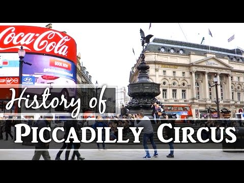 Piccadilly Circus: History of London Sightseeing Walking Tou