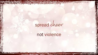 Xmas Message End Domestic Violence