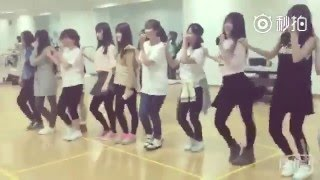 SNH48 TeamHII rehearse unit songs with all members just for fun on ...