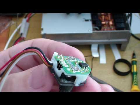 Icom IC-718 ремонт валкодера (encoder repair)