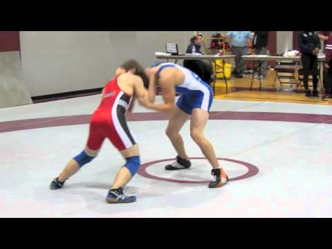 2012 McMaster Invitational: 54 kg Final Michio Clark vs. Brian Cowan