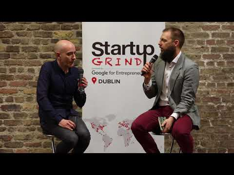 Barry O'Neill (CEO Touch Press Inc.) at Startup Grind Dublin