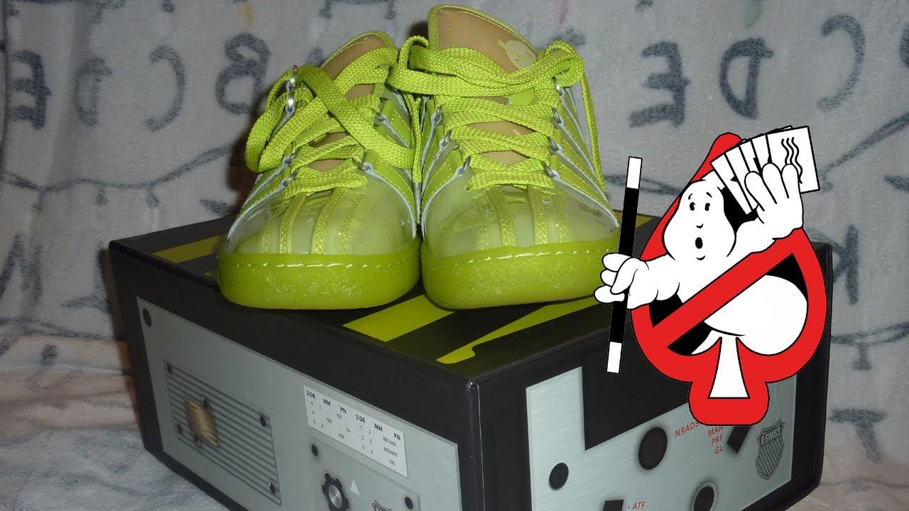 Ghostbusters K-Swiss Slimer Sneakers