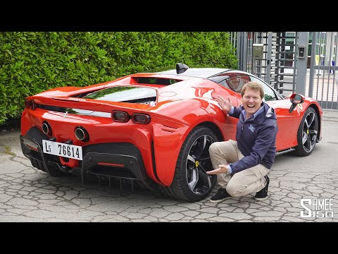 THIS is the New Ferrari SF90 Stradale! MY FIRST DRIVE