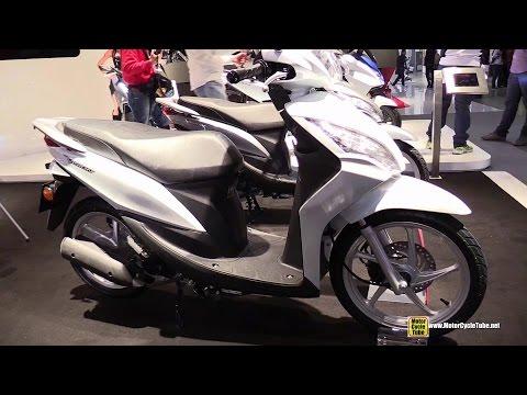2015 Honda Vision 50 Scooter - Walkaround - 2014 EICMA Milan Motorcycle Exhibition