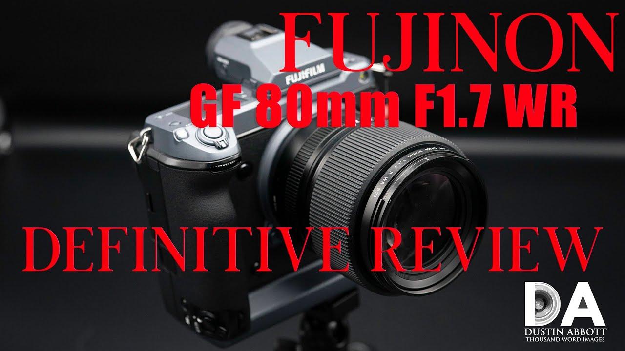 Fujinon GF 80mm F1.7 WR Definitive Review | 4K