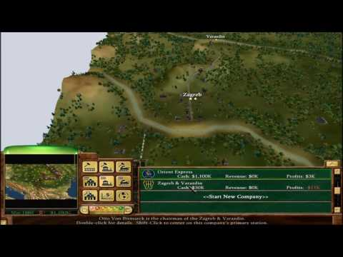 10 Let's Play Railroad Tycoon 3 Campaign: Orient Express