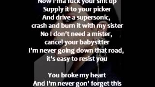 Charli XCX  Cloud Aura by Brooke Candy (Lyrics on Screen)