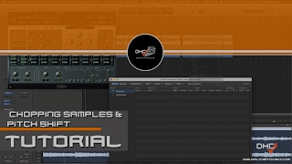 Chopping Samples, Time Stretching & Sample Pitch (Transpose) In Logic Pro X #DailyHeatChecc