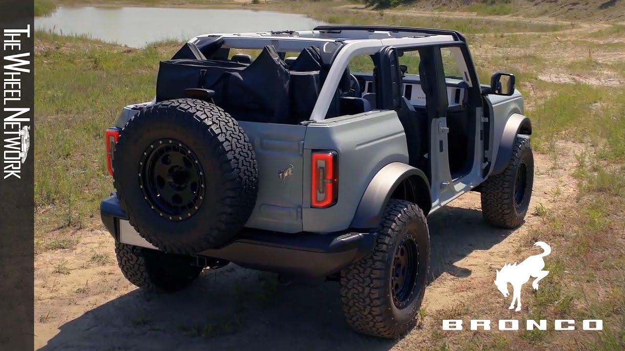2021 Ford Bronco Exterior Interior Youtube