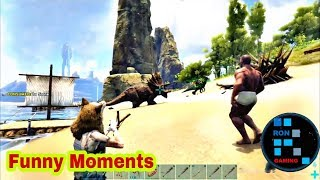 FUNNY MOMENTS Has Has K Pagal Ho Jaoge | ARK SURVIVAL EVOLVED(Re Edited)