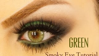 Smoky eyes Green eyes Tutorial Makeup By Ani Thumbnail