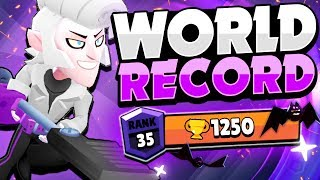 THE WORLD RECORD MORTIS This Pro Player Reached Rank 35 1250 Trophies With Mortis
