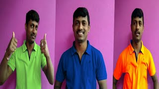 ಕಲರ್ ಕಲರ್ ಟೀಶರ್ಟ್ ಹಕೊಳ್ಳಬೇಕಾ  Colour colour t-shirt you want to wear