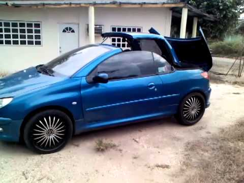peugeot 206 cc 2004 youtube. Black Bedroom Furniture Sets. Home Design Ideas