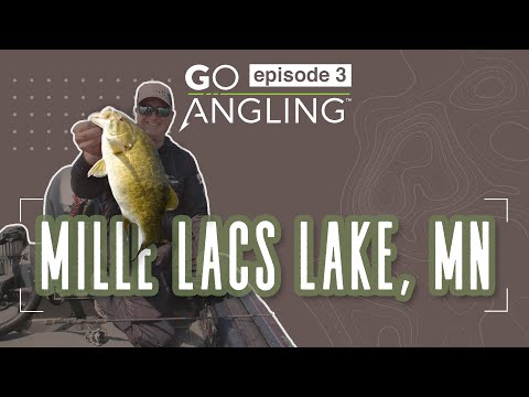 Tips For Fishing Post Spawn Walleye On Mille Lacs Lake - GO Angling Episode 3