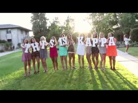 Fresno State Kappa Kappa Gamma Recruitment Video 2015