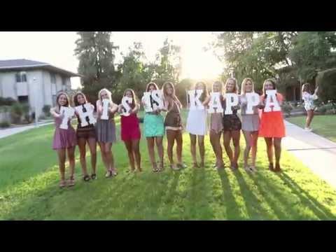 Fresno State Kappa Kappa Gamma Recruitment Video 2015